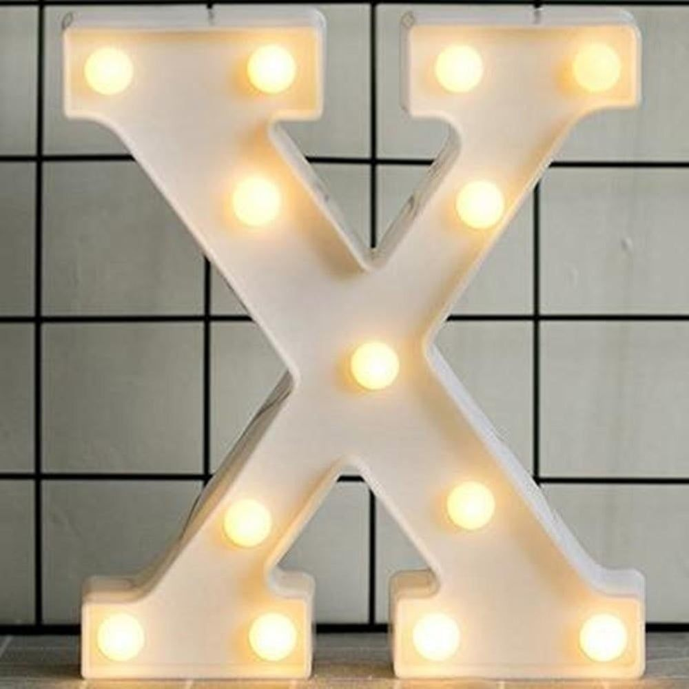 Luminous Led Letter Night Light English Alphabet Number Lamp Wedding Party Decoration Christmas