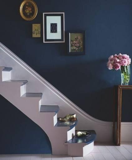 Staircase Ideas For Your Hallway That Will Really Make An: Kitchen Dark Walls Hallways 22 Ideas #kitchen