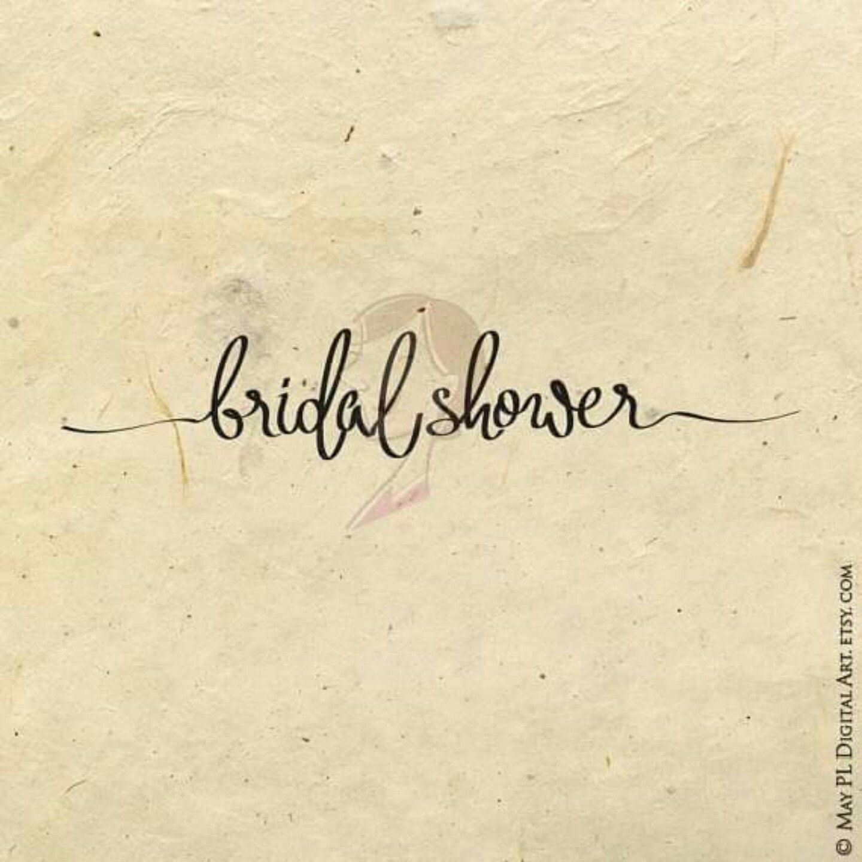 Make Your Own Bridal Shower invite #bridalshower #invites #DIY #wedding #calligraphy https://goo.gl/JY7whG