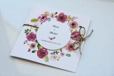 Zaproszenia ślubne Zawiadomienia Allegropl Zaproszenie