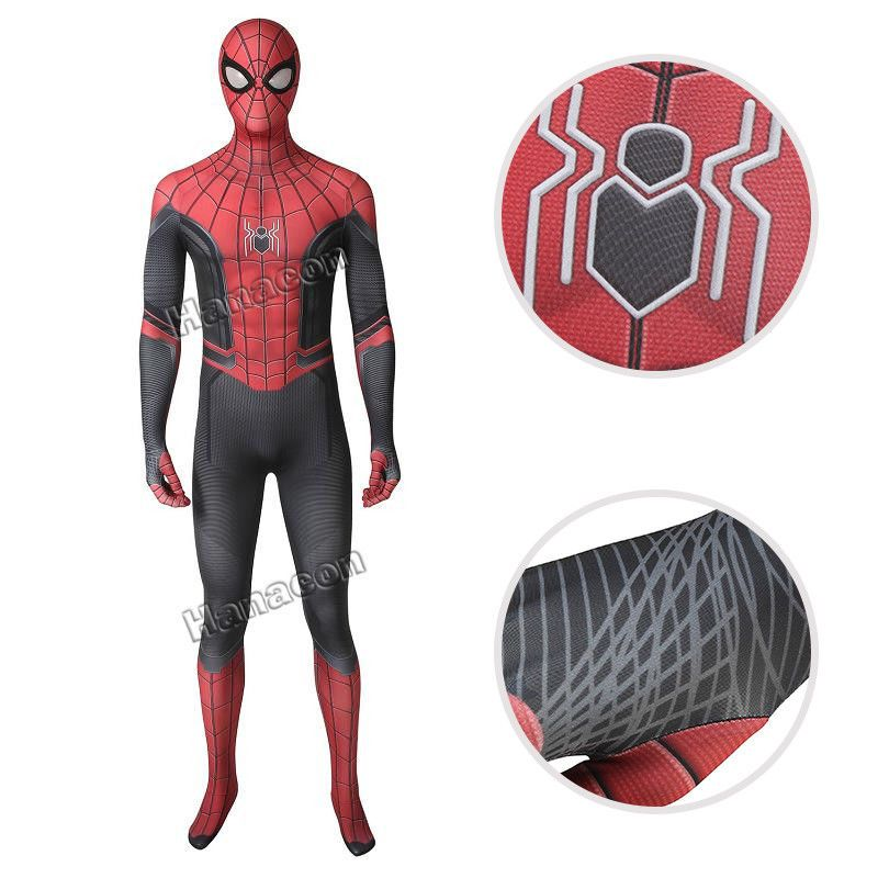 Spider-Man 3D Printing Spandex Jumpsuit Halloween Zentai Tights Cosplay Costume