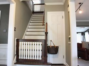 Barn House Love Interiors Diy Baby Gate Baby Gates And Barn