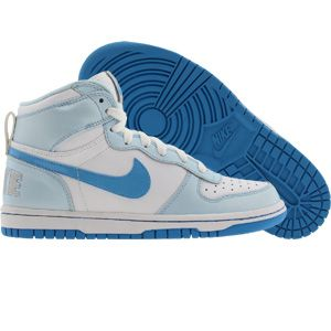 Nike Big Nike High (white / pro cyan / pale blue) 344578-141 - $54.99