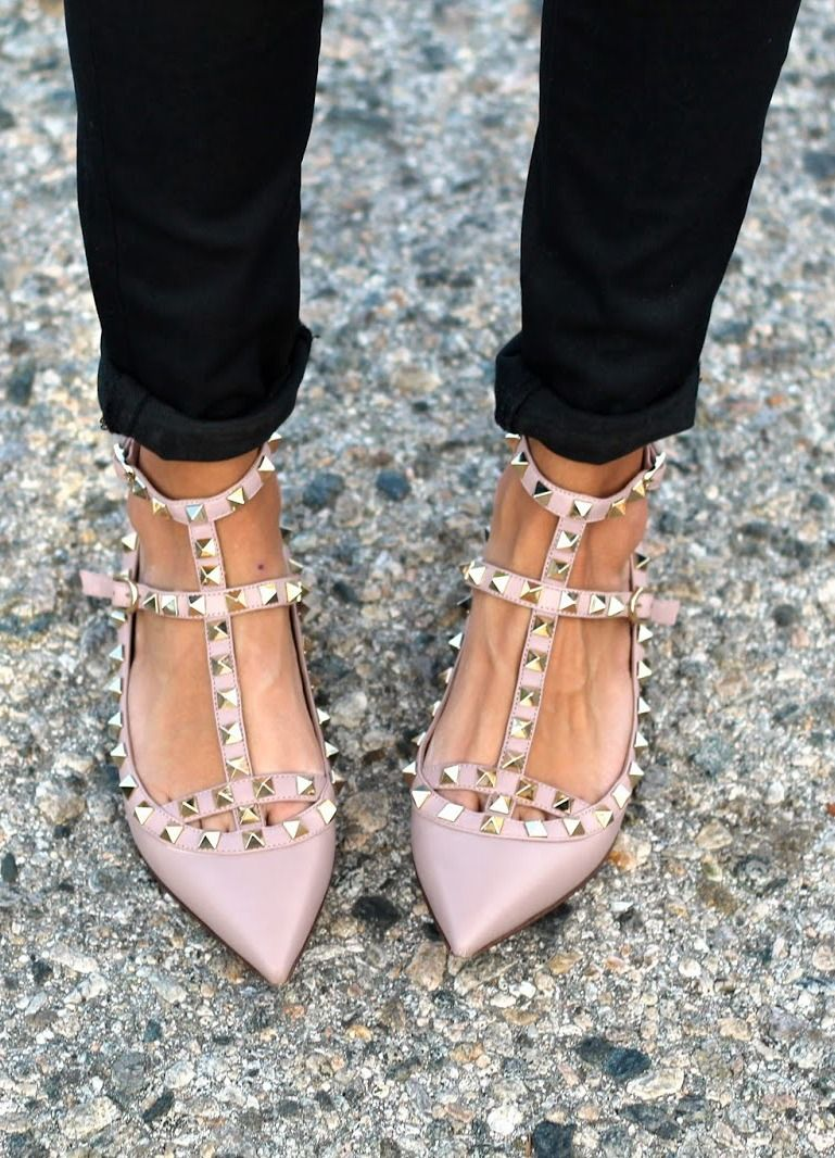 59f4d3388a321 Valentino Rockstuds   Nude     MINDY MAE S MARKET - Shoes in 2019 ...