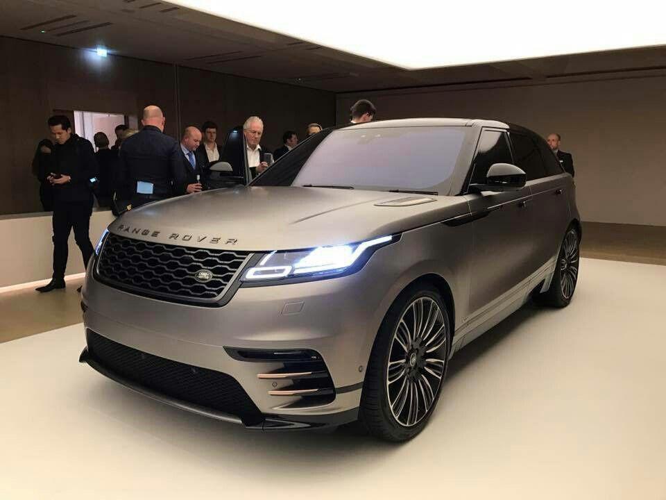 Range Rover Velar 2018 Luxury cars range rover, Range