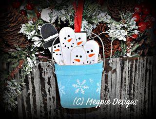 Megpie Designs: Snowman * Pail
