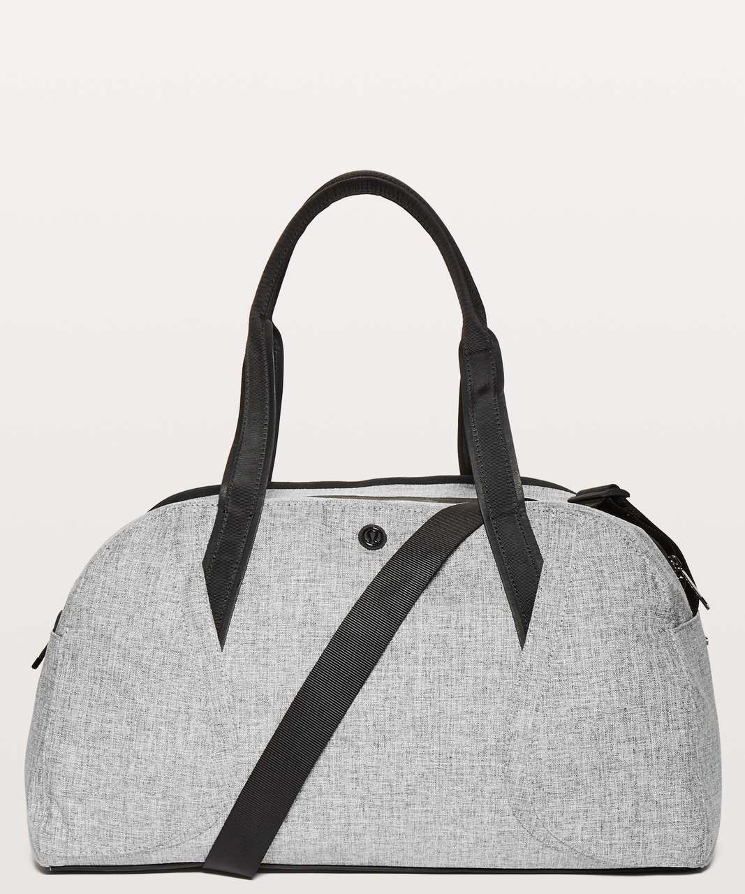 ada144f669b Color: heathered black. Ready, set, weekend. This roomy duffel has  compartments for everything you need (plus a laptop).Fabric is  water-repellent and easy ...