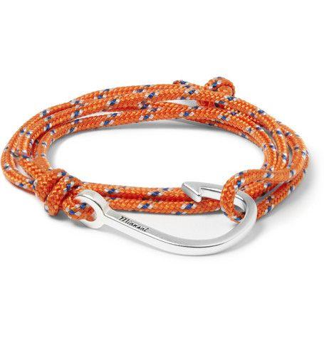 Shop now: Miansai Cord and Hook Bracelet