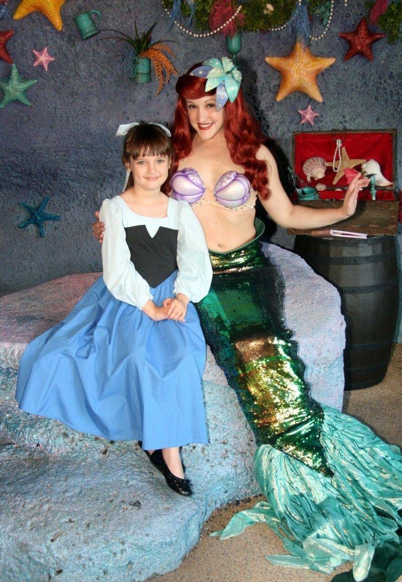 33af5c9a6bf12 ARIEL Walks On Land LITTLE Mermaid Costume ADULT Size | crafts ...