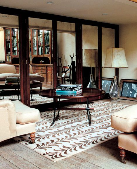 Moses rug in mocha - Suzanne Sharp for The Rug Company ...