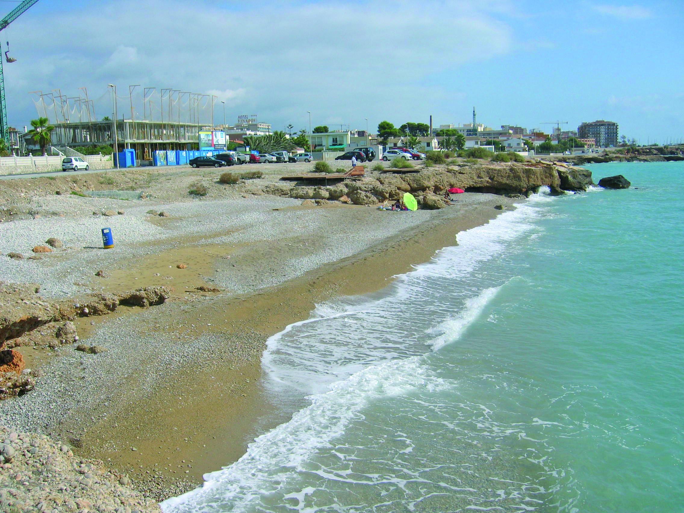 CALA DEL FONDO DE BOLA / Vinaròs - Situada en la zona turística sur ...