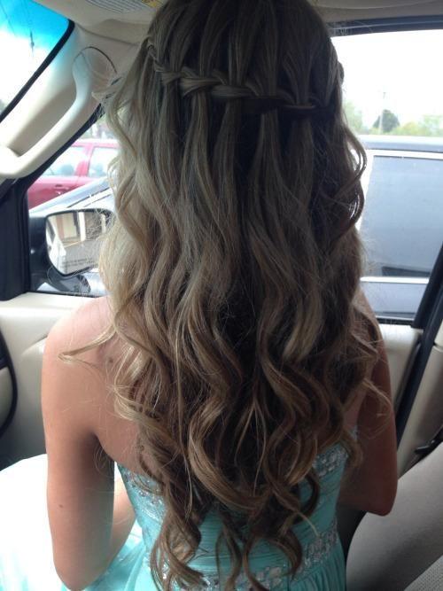 Prom Hair Simple Prom Hair Tumblr Hair Hair Sytles