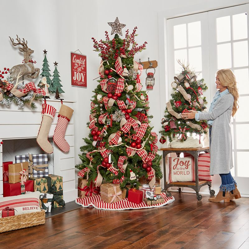 Creating Holiday Magic With Michaels Farmhouse Christmas Decor Christmas Decorations Merry Bright Christmas