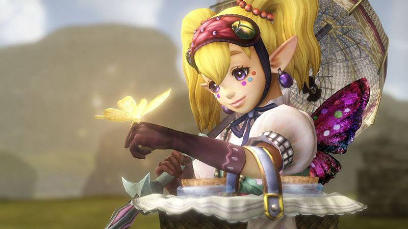 Agitha to be playable in Hyrule Warriors