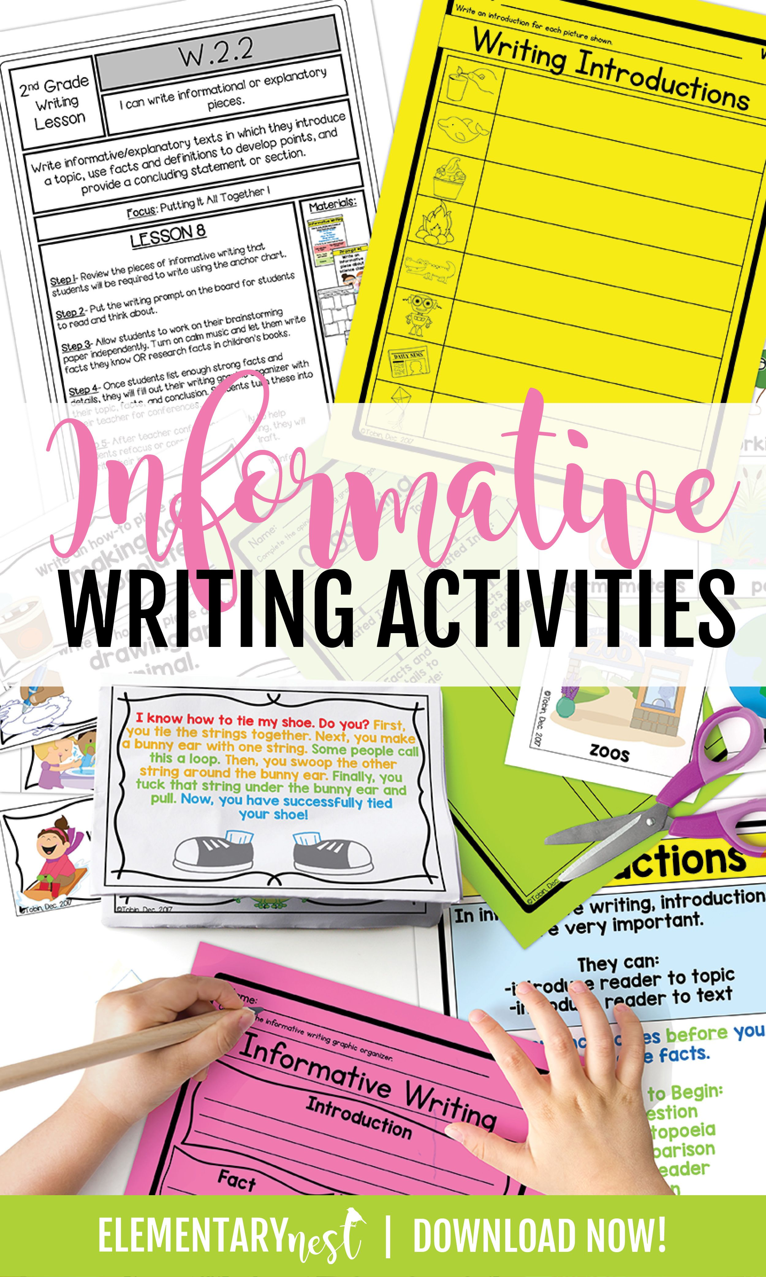 Informative Writing Activitie For 2nd Grade Informational Explanatory Lesson Plans Brainpop Paraphrasing
