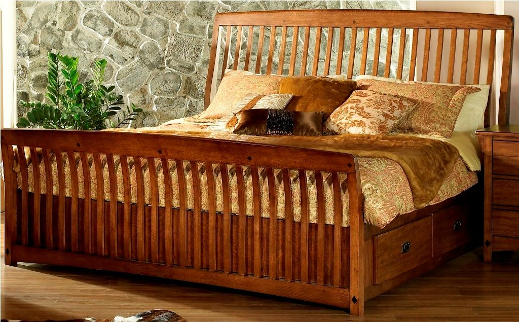 Furniture bedroom furniture bed mission style queen bed horlosie pinterest queen for Queen mission style bedroom set