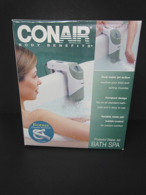 Bts1se Conair Body Benefits Powerful Water Jet Bath Spa Dual ...