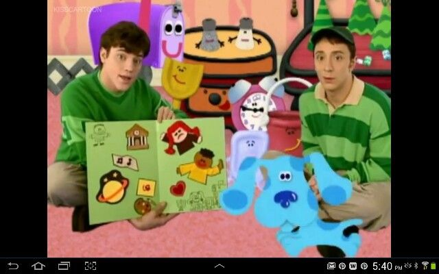 Blues Clues Steve Goes To College Blues Clues Episode Blues