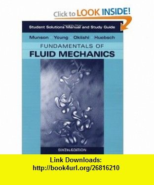 student solutions manual and student study guide to fundamentals of rh pinterest com Fluid Dynamics Problem Fluid Mechanics Formulas