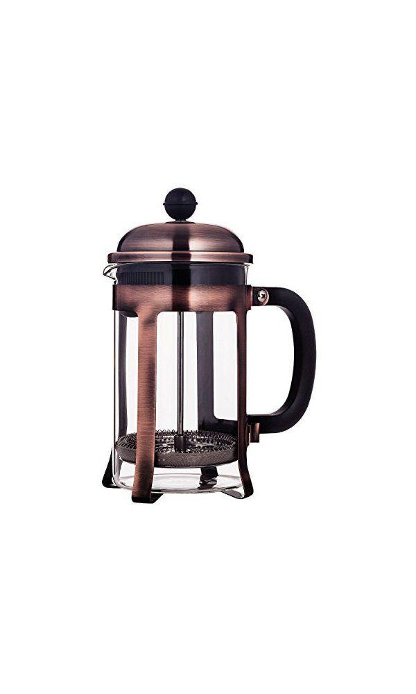 Mandarin Gear Copper Stainless Steel French Press Coffee Maker 28 Oz 800 Ml