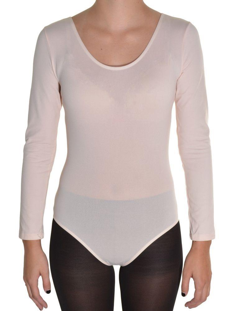 2fba4ab8b864c5 Danskin Womens Petite Ballet Leotard Long Sleeve Dancewear Gymnastics  Bodysuit  Danskin