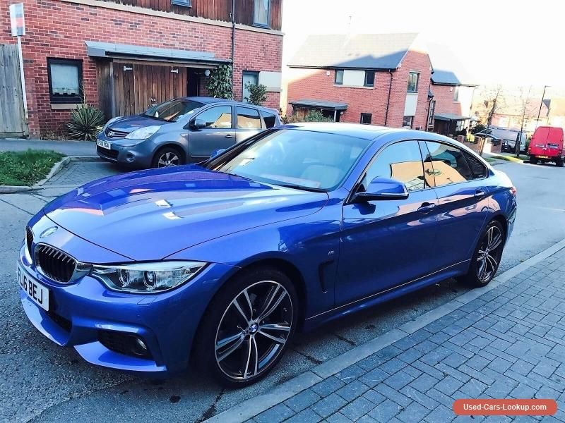 Car for Sale 2016 BMW 420D 2.0 GRAN COUPE M SPORT