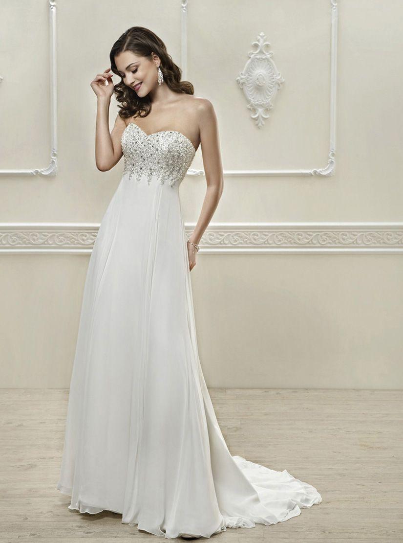 Simple off white wedding dresses  Cosmobella   Wedding  Pinterest  Wedding