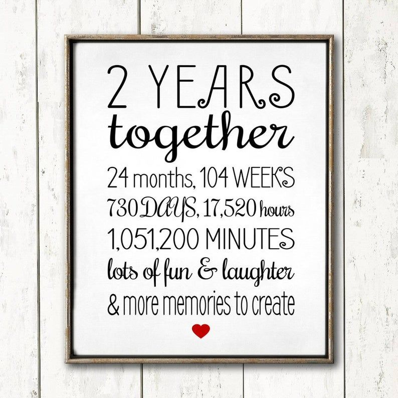1 YEAR ANNIVERSARY Sign, Editable, Personalize with names