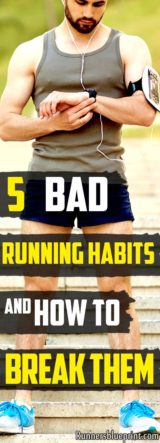51a748cb46 5 Bad Running Habits And How To Fix Them