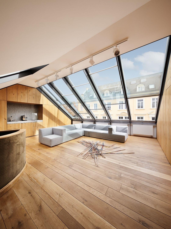 Bürgerliche Innenwelten – Wohnhaus-Umbau in Frankfurt