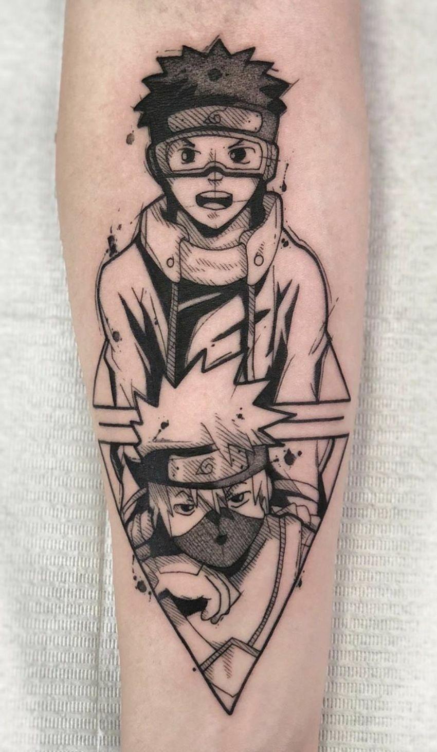 Top 30 Anime Tattoo Ideas Design For Man Naruto Tattoo Anime Tattoos Manga Tattoo
