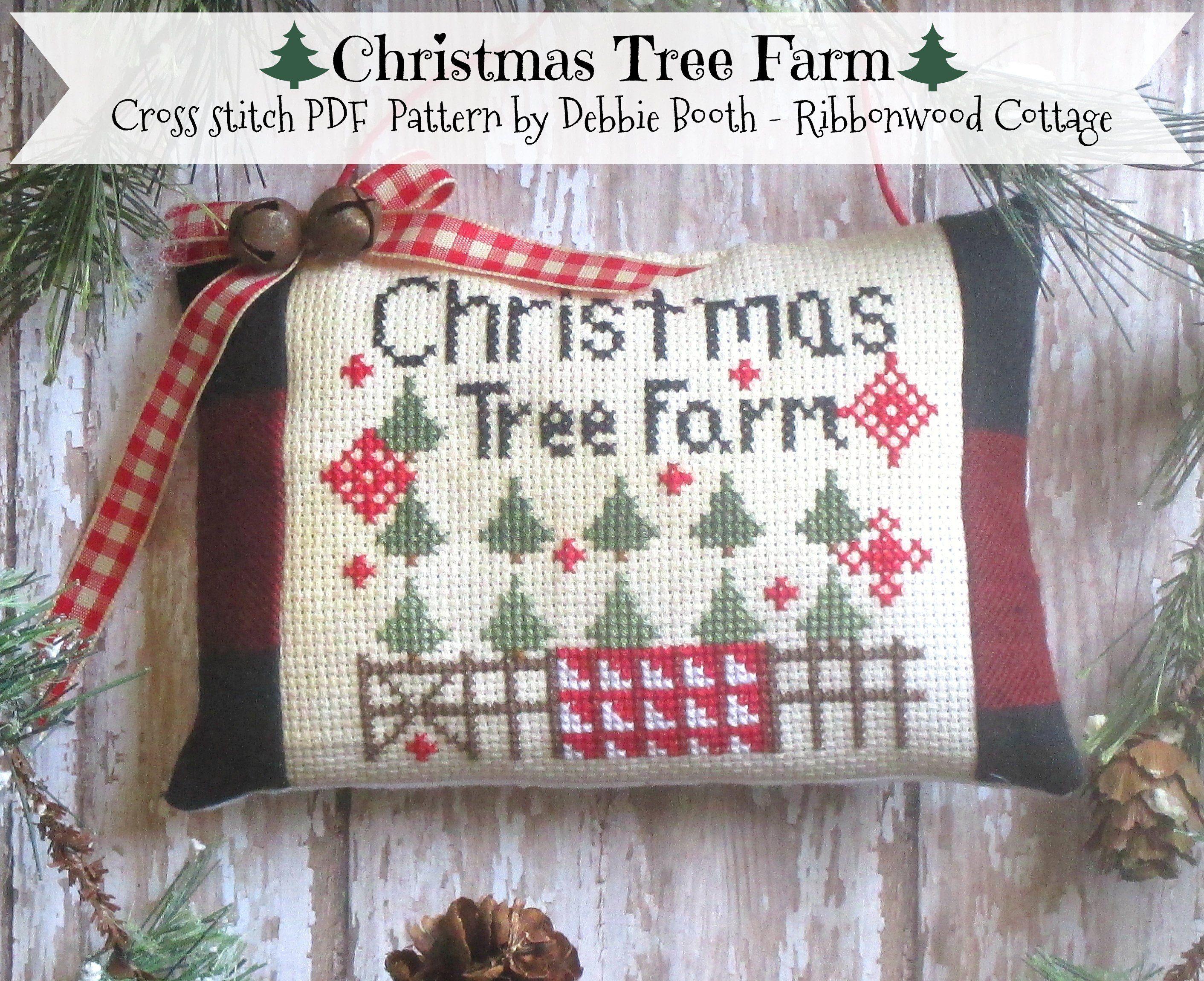 Festive Home Sampler Noel Tree Holly Mistletoe Christmas Cross Stitch Chart X