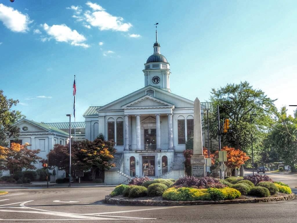 Visit Aiken, SC photo contest- Courthouse by Mary Pallon