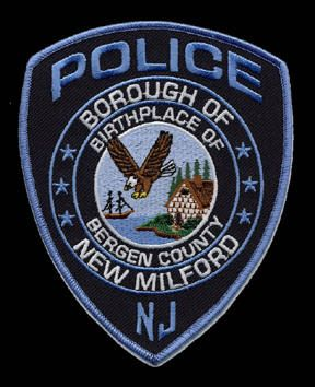 New Milford Nj Police Department Police Patches Police New Milford
