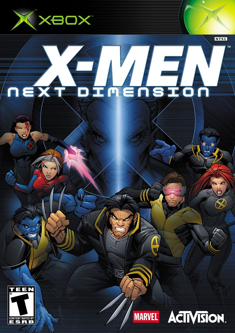 X Men Next Dimension For Microsoft Xbox X Men Marvel Games