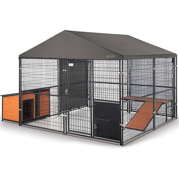 Top Rated Retriever Expandable Kennel Accessories I Purchased This Product To Use As A Secure Confinement Are Diy Dog Kennel Dog Kennel Dog Kennel Outdoor