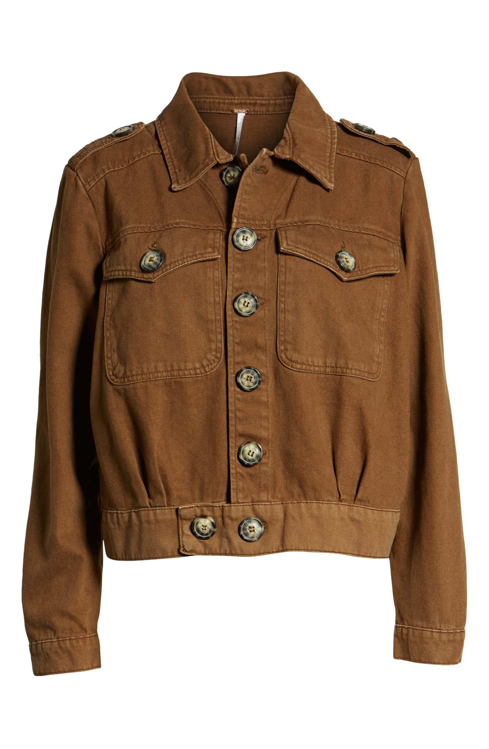 Free People Eisenhower Denim Jacket Nordstrom Denim Jacket Jackets Denim [ jpg ]