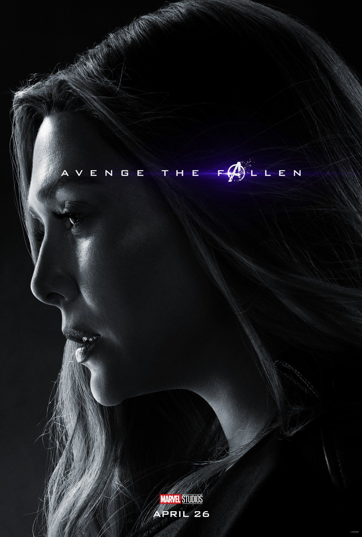 Avengers End Game Photo Paper Poster Movie Re Release We Love You 3000 42*30cm