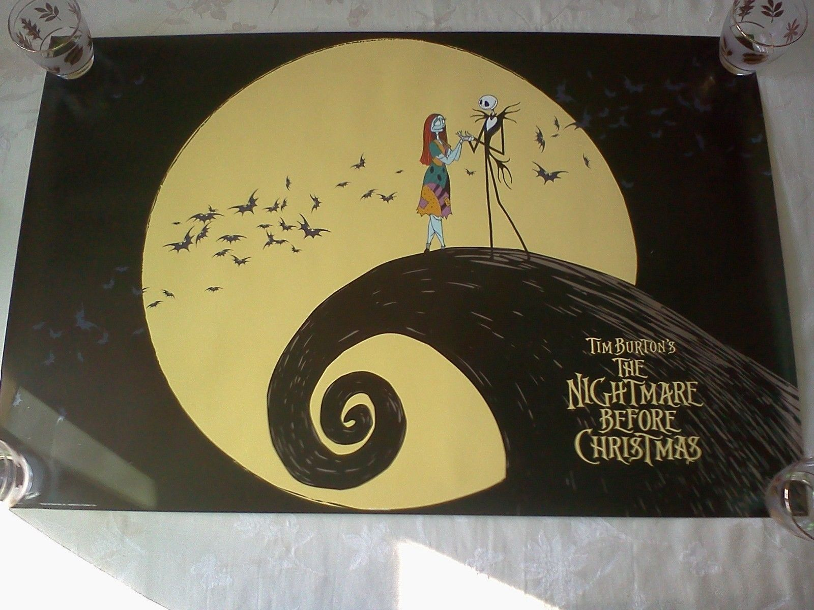 Outstanding Nightmare Before Christmas Wall Decor Composition - All ...