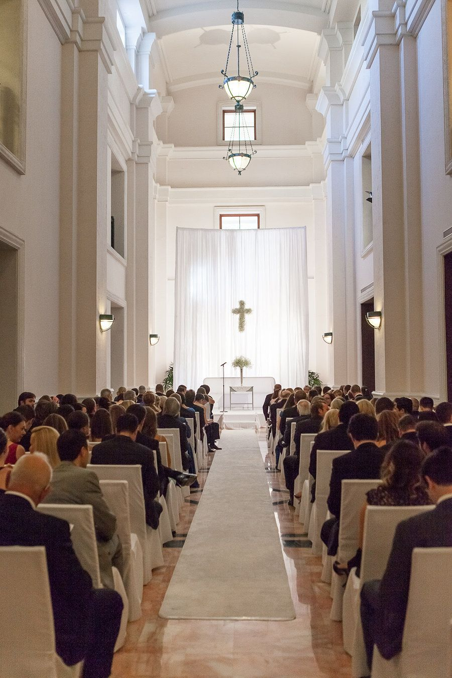 Westin Colonnade Curtains For Ceremony Coral Gables FL