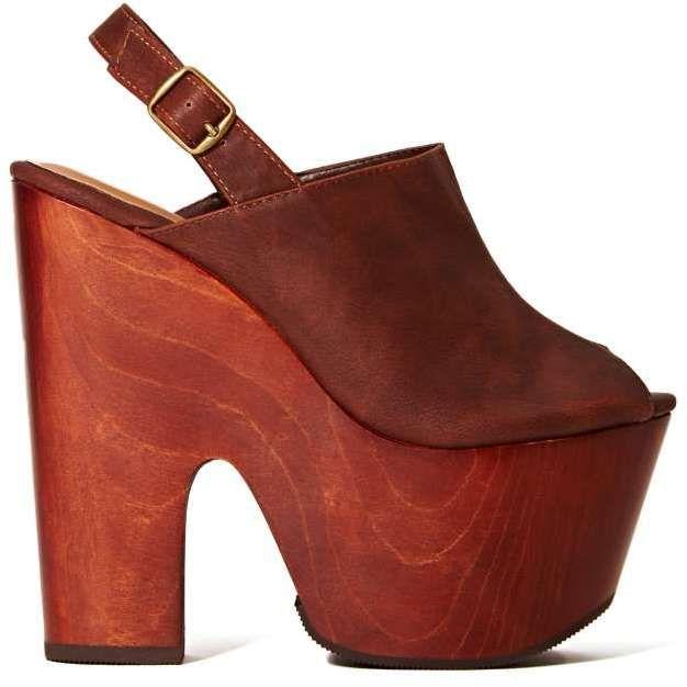 cc11a7a791e2 Nasty Gal Shoe Cult Anticipate Platform - Brown on shopstyle.com ...