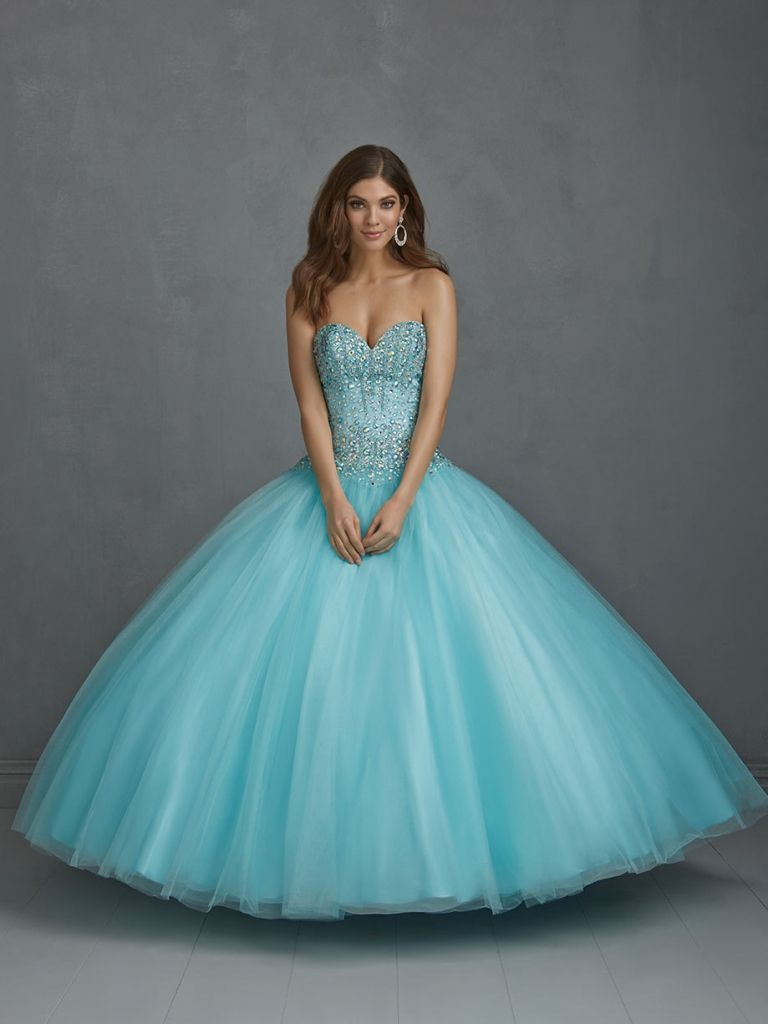 Long blue puffy prom dresses off shoulder prom dress check more at