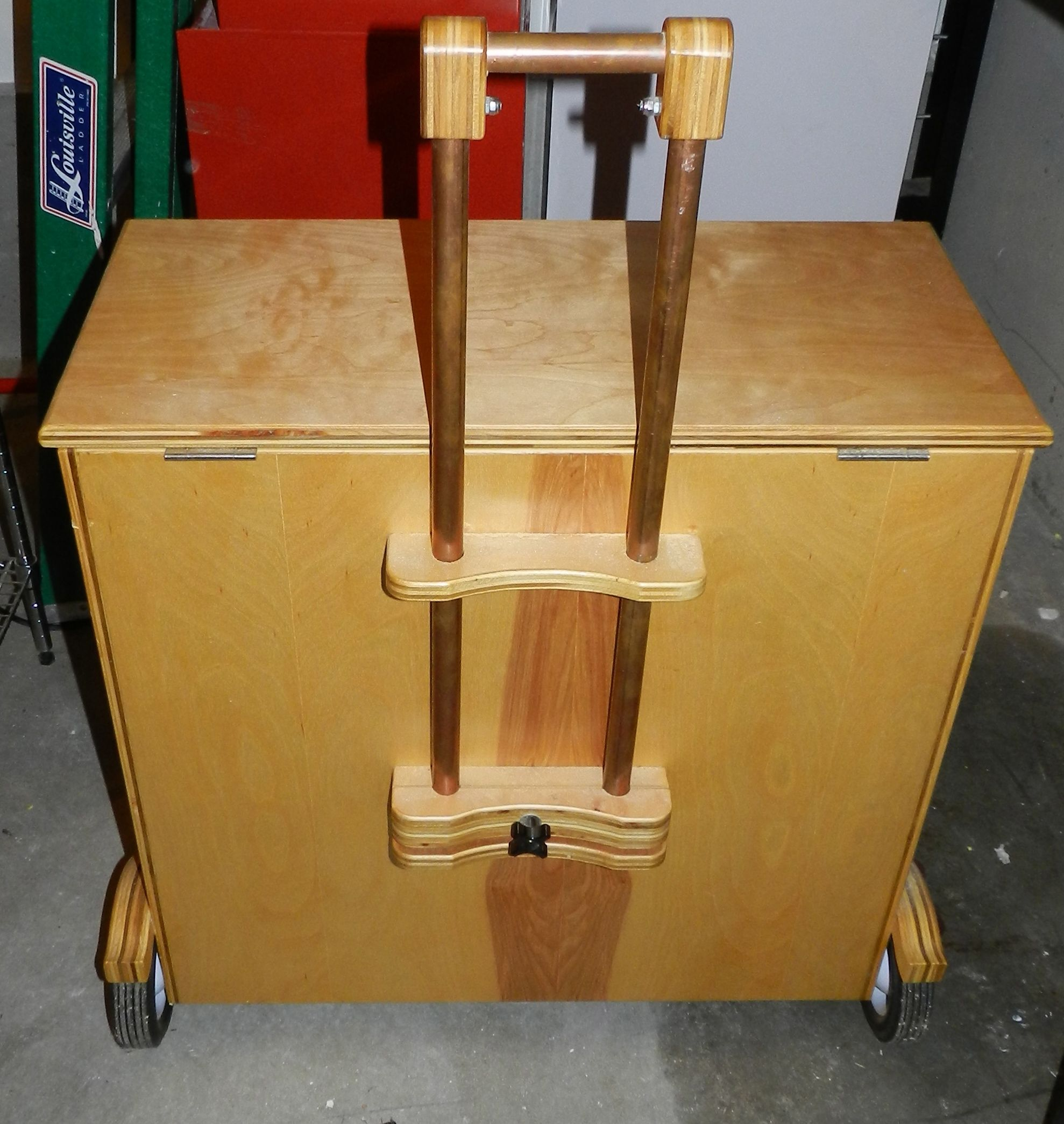 Tools For Diy Projects Diy Plywood Rolling Tool Case With Telescoping Handle And Drawers