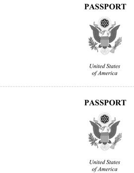Passport template passport template template and students passport template pronofoot35fo Gallery