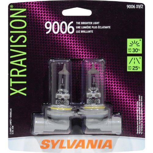 Sylvania 9006 XV XtraVision Halogen Headlight Bulb Low Beam Pack Of 2