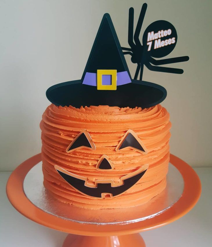 Bolo Halloween: 75 fotos para se inspirar + tutoriais