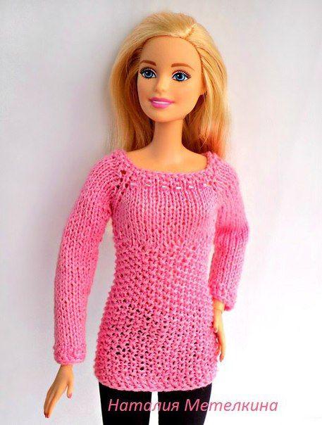 Фотография | Barbie 2 Crochet/Knit | Pinterest | Puppenkleider, DIY ...