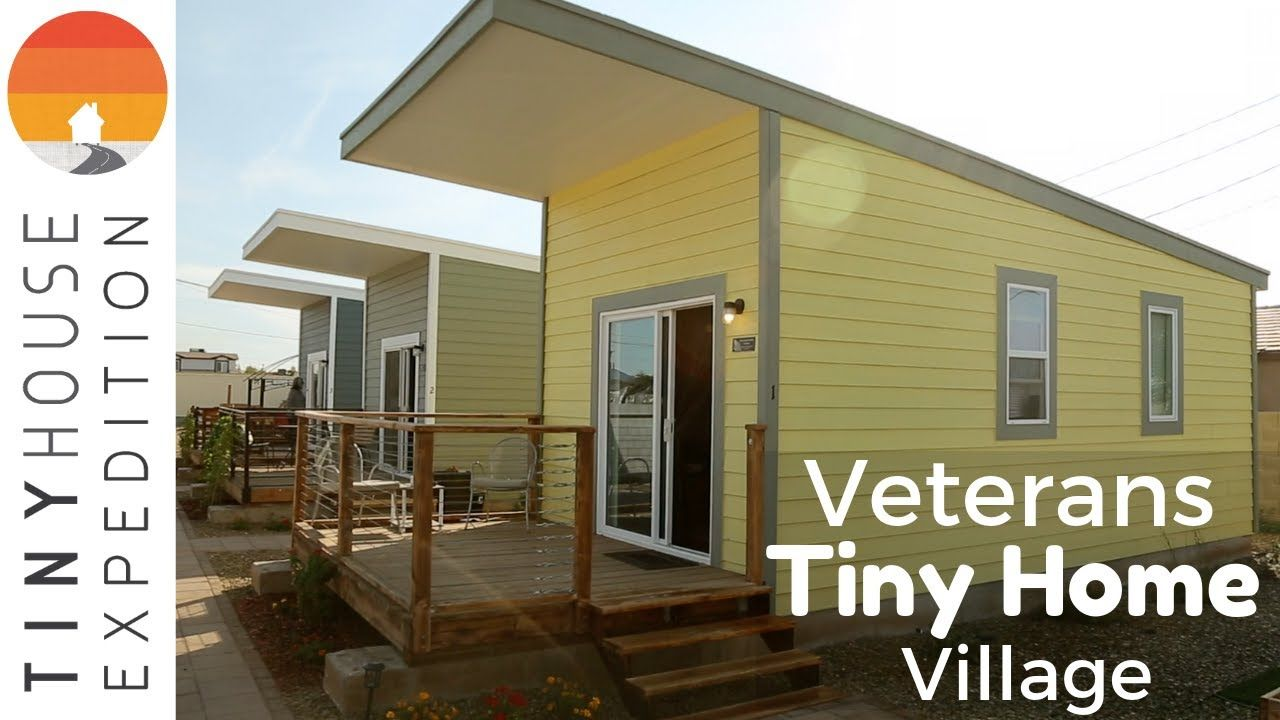 Surprising First Ever Veterans Tiny House Community In Phoenix For Best Image Libraries Weasiibadanjobscom