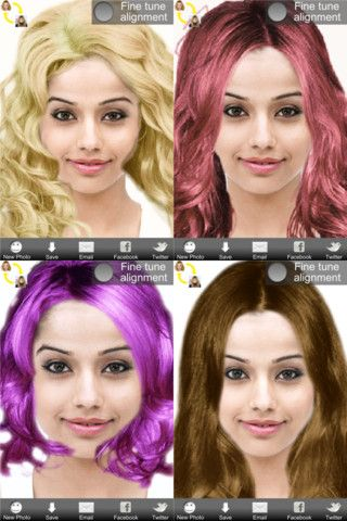Get Ultimate Hairstyle Try On And Try New Styles And Colors On Your Own Photo Try On Hairstyles Hairstyle Hair Styles