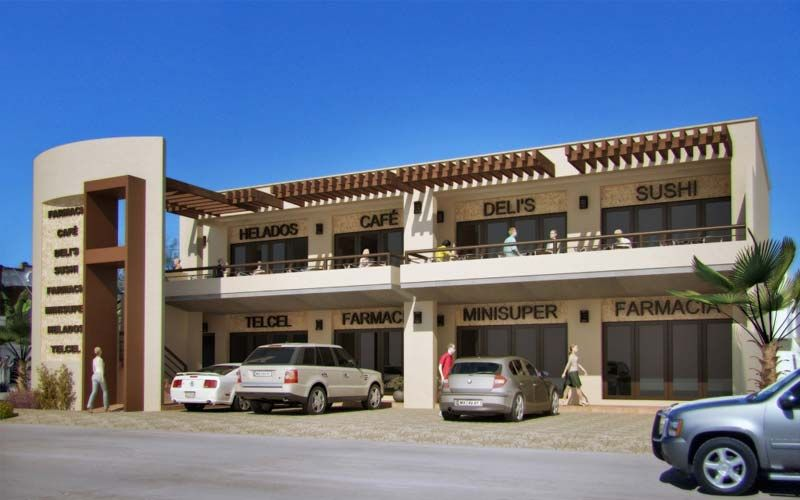 Fachadas locales comerciales arquitectura buscar con for Locales comerciales modernos exterior